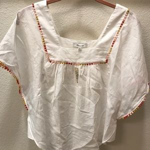 NWT Madewell butterfly top sz XS